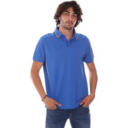 Υφασμάτινα Άνδρας Πόλο με κοντά μανίκια  Invicta 4452241/U Μπλε