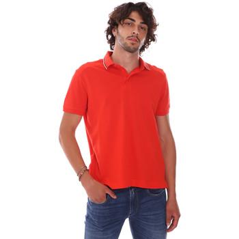 Υφασμάτινα Άνδρας Πόλο με κοντά μανίκια  Invicta 4452241/U το κόκκινο