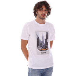 Υφασμάτινα Άνδρας T-shirt με κοντά μανίκια Refrigiwear RM0T25500JE9101 λευκό
