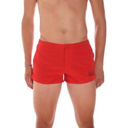 Υφασμάτινα Άνδρας Μαγιώ / shorts για την παραλία Ea7 Emporio Armani 902005 7P730 το κόκκινο