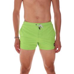 Υφασμάτινα Άνδρας Μαγιώ / shorts για την παραλία F * * K  Πράσινος