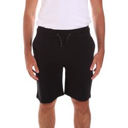 Υφασμάτινα Άνδρας Μαγιώ / shorts για την παραλία Key Up 2G38J 0001 Μαύρος