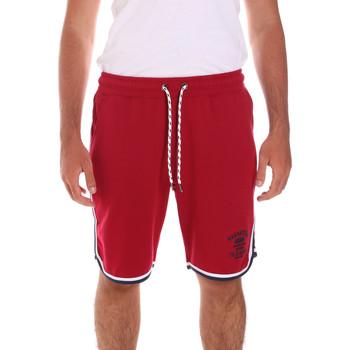 Υφασμάτινα Άνδρας Μαγιώ / shorts για την παραλία Key Up 2S65F 0001 το κόκκινο