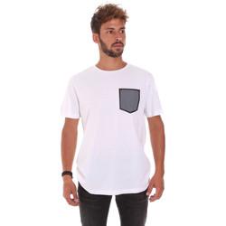 Υφασμάτινα Άνδρας T-shirt με κοντά μανίκια Antony Morato MMKS01025 FA100084 λευκό