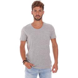 Υφασμάτινα Άνδρας T-shirt με κοντά μανίκια Antony Morato MMKS01003 FA100092 Γκρί