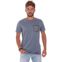 Υφασμάτινα Άνδρας T-shirt με κοντά μανίκια Antony Morato MMKS01025 FA100084 Μπλε