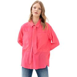 Υφασμάτινα Γυναίκα Πουκάμισα Fracomina F321WT6001W41801 Ροζ