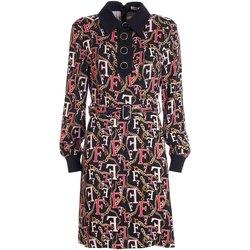 Υφασμάτινα Γυναίκα Κοντά Φορέματα Fracomina FR21WD1015W426N4 Μαύρος