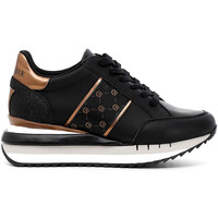 Παπούτσια Γυναίκα Χαμηλά Sneakers Café Noir DN1150 Μαύρος