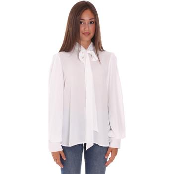 Υφασμάτινα Γυναίκα Πουκάμισα Fracomina F321WT6004W41201 λευκό