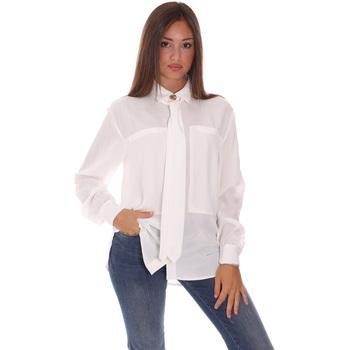 Υφασμάτινα Γυναίκα Πουκάμισα Fracomina F321WT6001W41801 λευκό