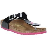 Παπούτσια Παιδί Σαγιονάρες Birkenstock 845863 Μαύρος