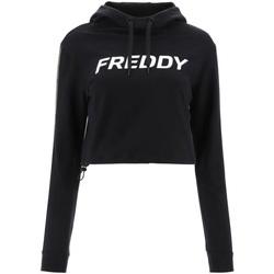 Υφασμάτινα Γυναίκα Φούτερ Freddy F1WFTS3 Μαύρος