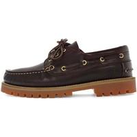 Παπούτσια Άνδρας Boat shoes Lumberjack SMC2214 001 B03 καφέ