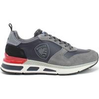 Παπούτσια Άνδρας Χαμηλά Sneakers Blauer F1HILO03/LES Γκρί