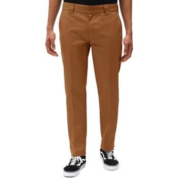 Υφασμάτινα Άνδρας Παντελόνια Chino/Carrot Dickies DK0WE872BD01 καφέ