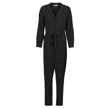 Υφασμάτινα Γυναίκα Ολόσωμες φόρμες / σαλοπέτες Moony Mood  Black