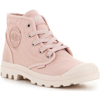 Παπούτσια Γυναίκα Ψηλά Sneakers Palladium Us Pampa Hi F 92352-613-M Rose Smoke pink