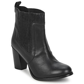 Παπούτσια Γυναίκα Μποτίνια Dune NATTIES ΜΑΥΡΟ