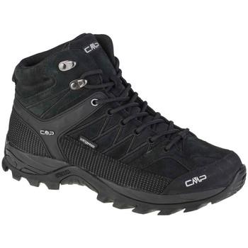 Παπούτσια Άνδρας Πεζοπορίας Cmp Rigel Mid Noir