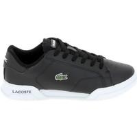 Παπούτσια Χαμηλά Sneakers Lacoste Twin Serv Jr Noir Blanc Black