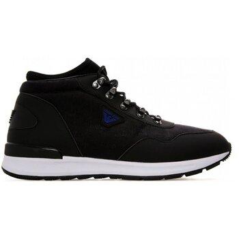 Παπούτσια Άνδρας Ψηλά Sneakers Armani jeans 935125 7A408 Black