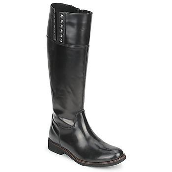 Παπούτσια Γυναίκα Μπότες για την πόλη Tosca Blu ALINE BOTTE Black
