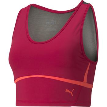 Υφασμάτινα Γυναίκα Αθλητικά μπουστάκια  Puma Eversculpt Fitted το κόκκινο