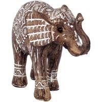 Σπίτι Αγαλματίδια και  Signes Grimalt Σχήμα Ελέφαντα Marrón
