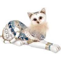 Σπίτι Αγαλματίδια και  Signes Grimalt Σχήμα Γάτα. Multicolor
