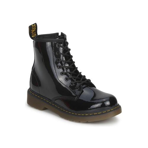 Παπούτσια Παιδί Μπότες Dr Martens DELANEY Black