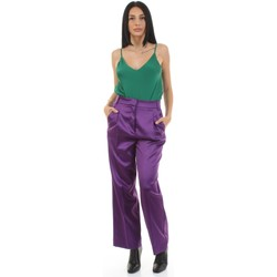 Υφασμάτινα Γυναίκα Παντελόνια κοστουμιού Vicolo 92004325 Viola