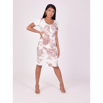 Υφασμάτινα Γυναίκα Φορέματα Project X Paris  Beige