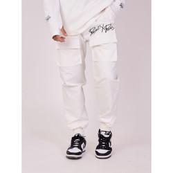 Υφασμάτινα Άνδρας Παντελόνια Project X Paris  Άσπρο