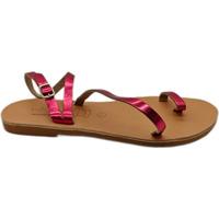 Παπούτσια Γυναίκα Σανδάλια / Πέδιλα Emmanuela Handcrafted For You Flat σανδάλια