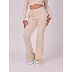 Υφασμάτινα Γυναίκα Παντελόνια Project X Paris  Beige