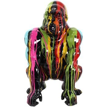 Σπίτι Αγαλματίδια και  Signes Grimalt Gorilla Grafiti Σχήμα Multicolor