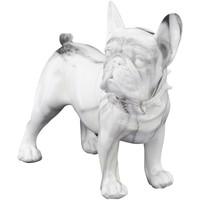 Σπίτι Αγαλματίδια και  Signes Grimalt Fange Bulldog Σχήμα Blanco