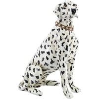 Σπίτι Αγαλματίδια και  Signes Grimalt Dalmata Σκυλί Σχήμα Blanco