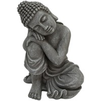 Σπίτι Αγαλματίδια και  Signes Grimalt Σχήμα Βούδα. Gris