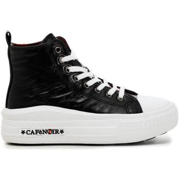 Παπούτσια Γυναίκα Ψηλά Sneakers Café Noir DM9250 Μαύρος