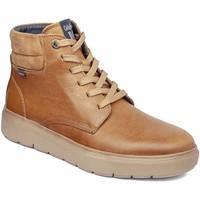Παπούτσια Άνδρας Ψηλά Sneakers CallagHan 45508 καφέ