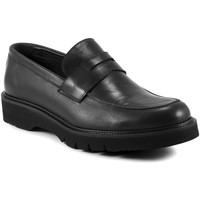 Παπούτσια Άνδρας Μοκασσίνια Exton 662 Μαύρος