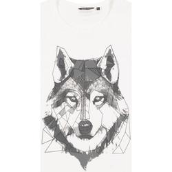 Υφασμάτινα Άνδρας T-shirt με κοντά μανίκια Antony Morato MMKS02072 FA100144 λευκό