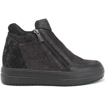 Παπούτσια Γυναίκα Ψηλά Sneakers IgI&CO 8158600 Μαύρος