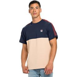 Υφασμάτινα Άνδρας T-shirt με κοντά μανίκια Fila 688985 Μπλε