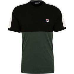 Υφασμάτινα Άνδρας T-shirt με κοντά μανίκια Fila 688985 Πράσινος