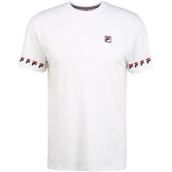 Υφασμάτινα Άνδρας T-shirt με κοντά μανίκια Fila 689176 λευκό
