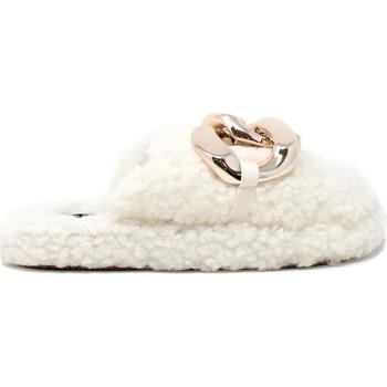 Παπούτσια Γυναίκα Παντόφλες Gold&gold B21 FL159 λευκό