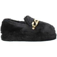 Παπούτσια Γυναίκα Παντόφλες Gold&gold B21 FL158 Μαύρος